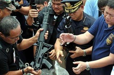 senjata pindad disita bea cukai philipina
