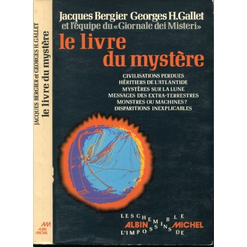 majalah berbahasa Perancis yang berjudul Le Livre Du Mystere
