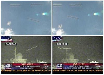 Rod yang terekam oleh kameramen Fox News saat merekam perang Irak.