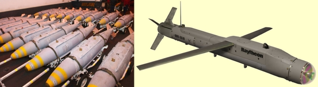 Joint Direct Attack Munition (JDAM) dan Small-Diameter Bomb (SDB)