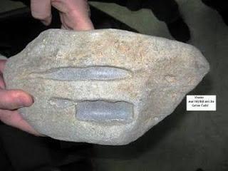 batuan piramida diambil untuk penelitian