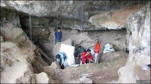 Penemuan tembika di Gua Yuchanyan