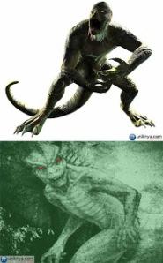 Manusia Kadal Dari Scape Or Swamp