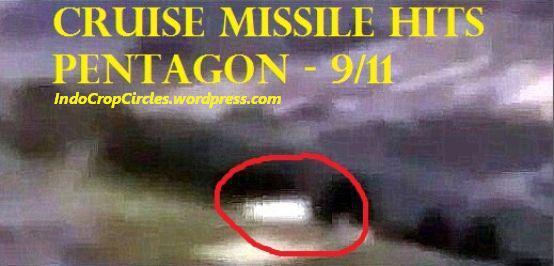 Terlihat missile menghantam Pentagon saat 9/11